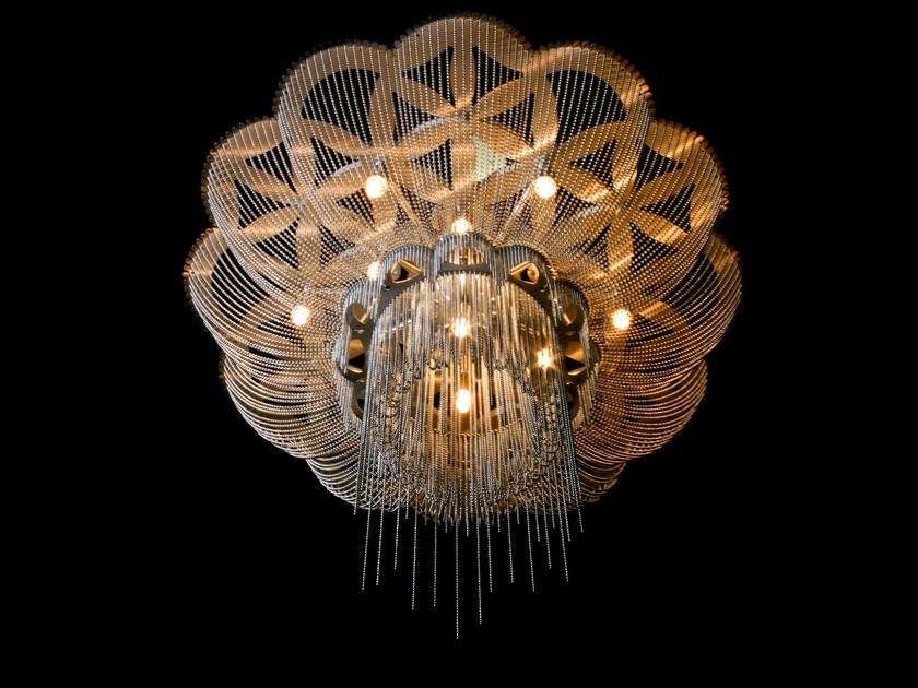 Ceiling lamp FLOWER OF LIFE | Ceiling lamp by Willowlamp
