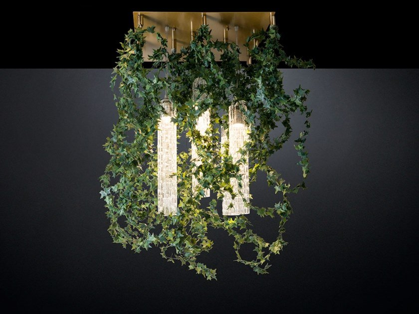 LED ceiling lamp FLOWER POWER IVY GARLAND by VGnewtrend
