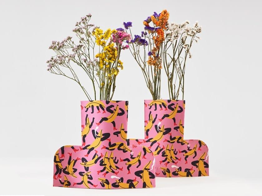 Fabric vase FLOWER POWER L BANANA GUYS 02 by Sancal
