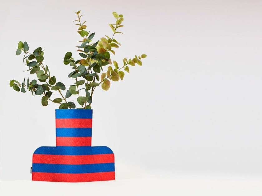Fabric vase FLOWER POWER L RUMBA 01 by Sancal
