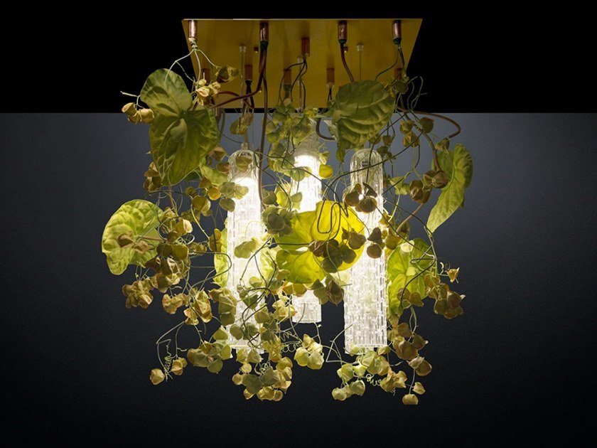 LED ceiling lamp FLOWER POWER PHYSALIS ANTHURIUM by VGnewtrend
