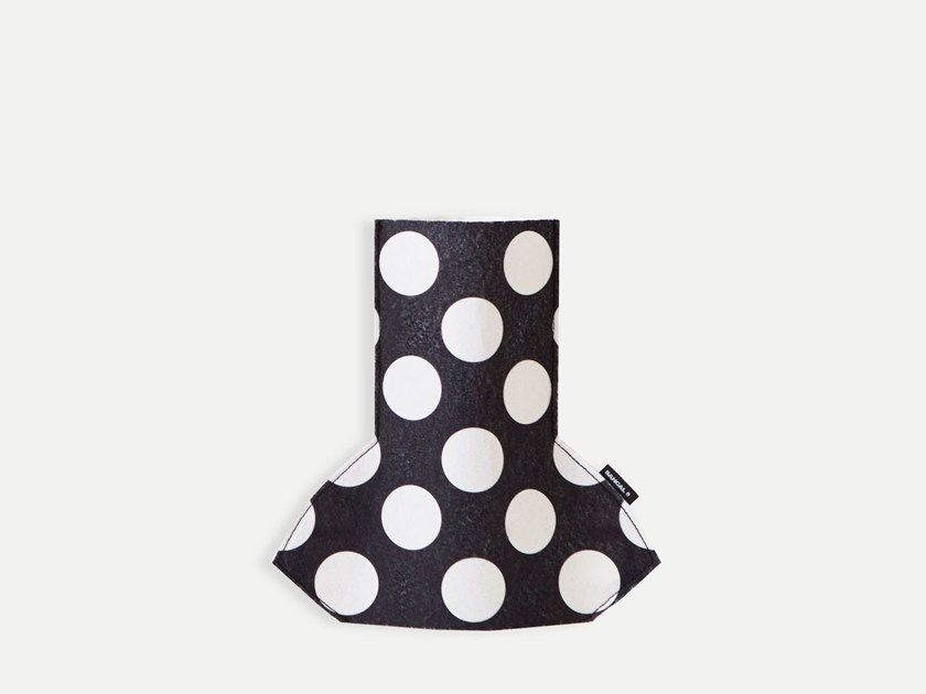 Fabric vase FLOWER POWER S MONOCHROME 02 by Sancal