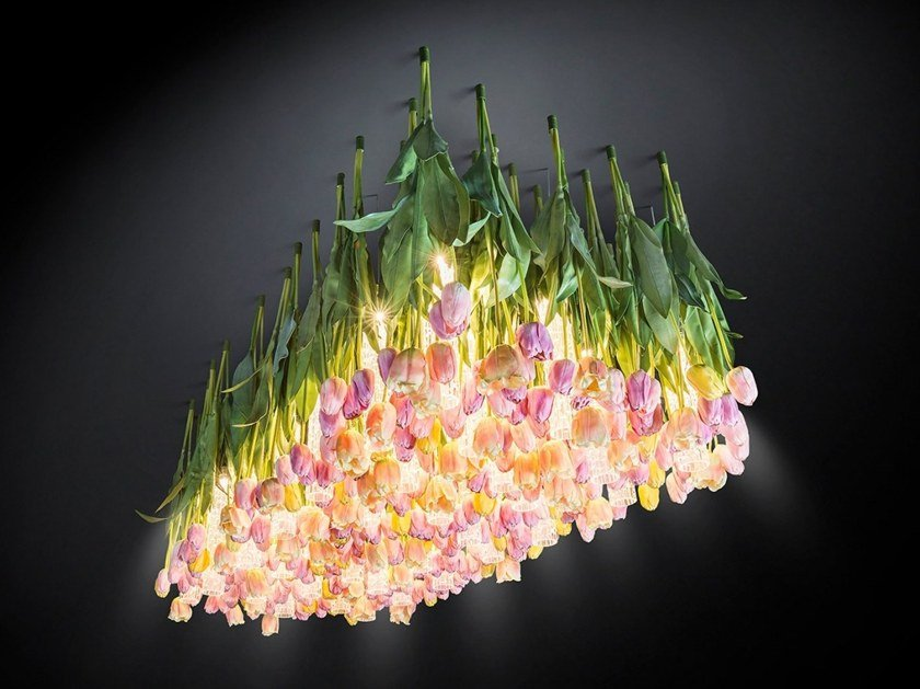 LED ceiling lamp FLOWER POWER by VGnewtrend