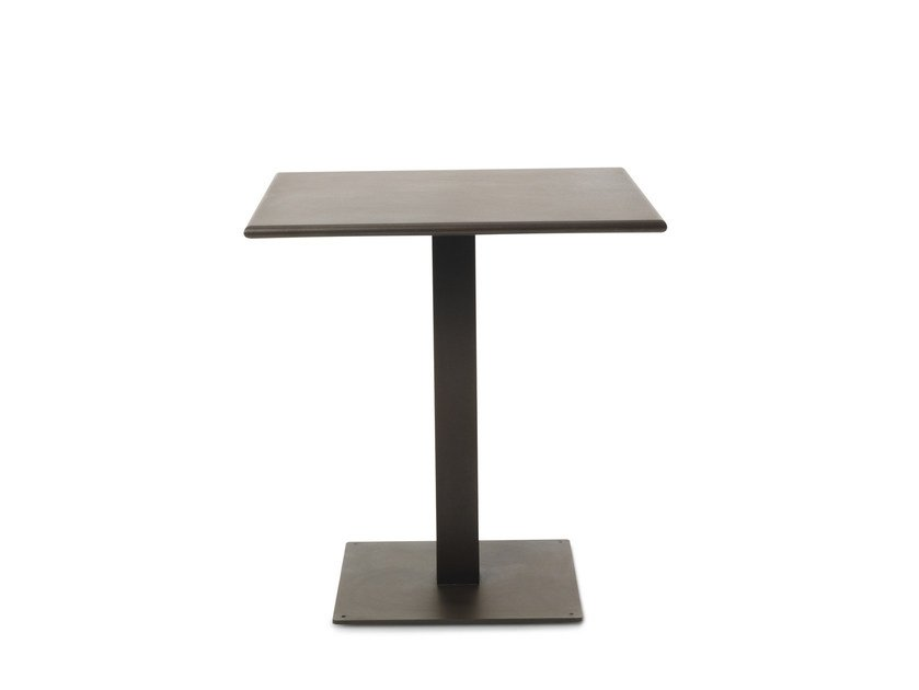Square metal garden table FLOWER | Square table by Ethimo