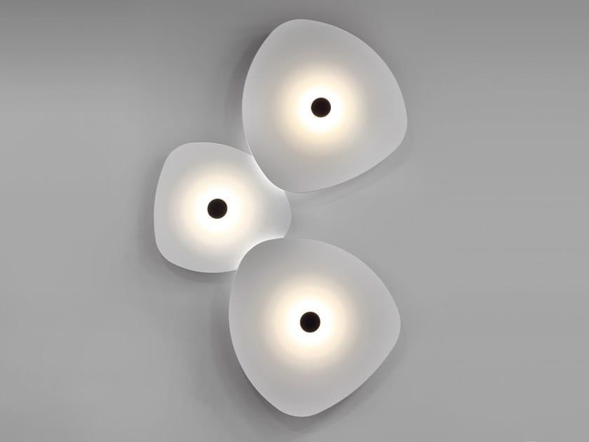 Flower Wall Lamp By Egoluce Design Serge Cornelissen