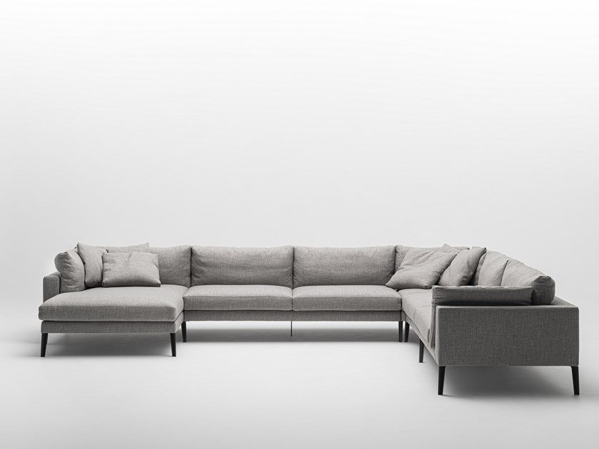Sectional fabric sofa FLOYD-HI 2 SYSTEM by Living Divani