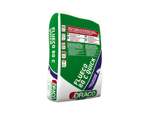 Mortar and grout for renovation FLUECO 80C Quick by DRACO ITALIANA