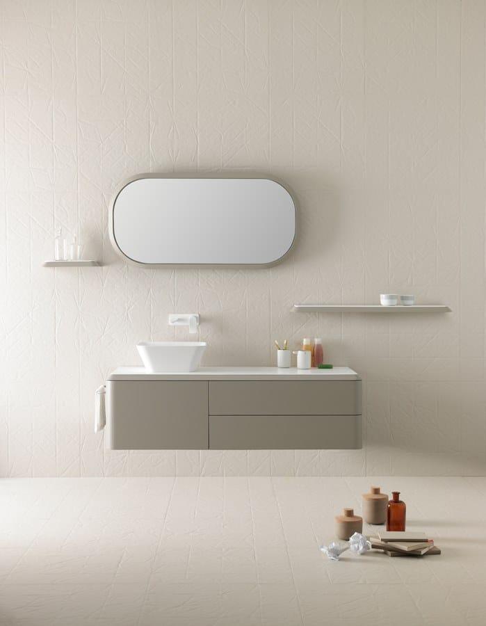Specchio Con Cornice Per Bagno.Specchio Con Cornice Per Bagno Fluent Specchio Ovale Inbani