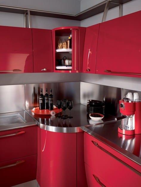 Cucina componibile laccata FLUX - Scavolini