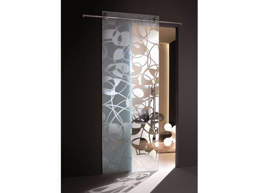 Glass sliding door FLY by Casali