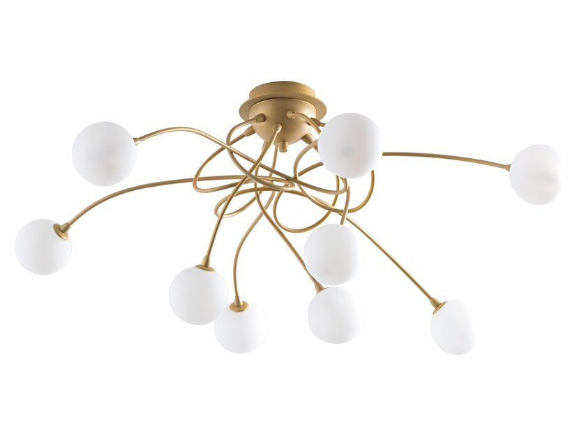 Metal ceiling lamp FLY   Ceiling lamp by Rossini Illuminazione