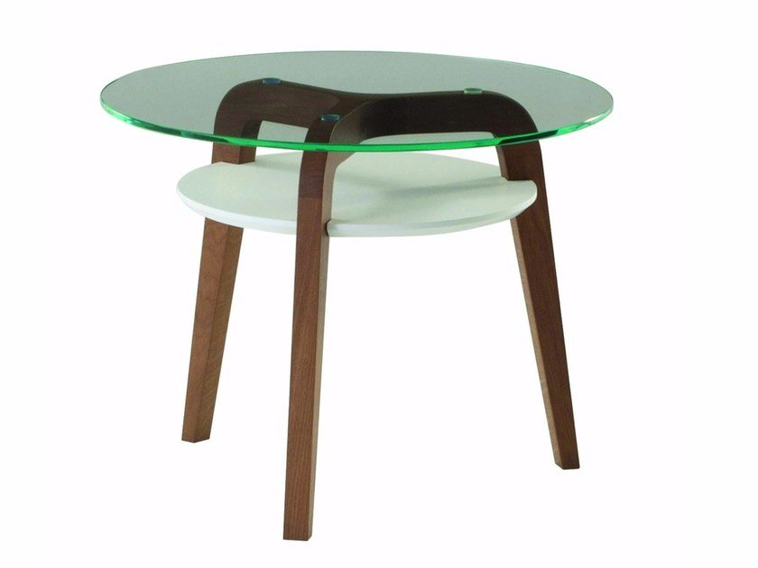 Glass side table FLYING GLASS by ROCHE BOBOIS