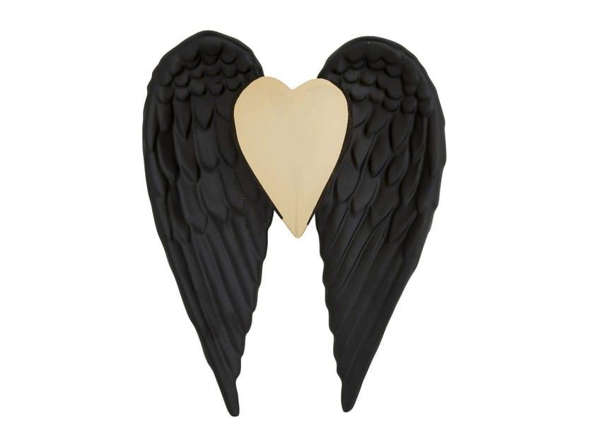 Oggetto decorativo da parete in ceramica FLYING HEART   Oggetto decorativo da parete by KARE-DESIGN