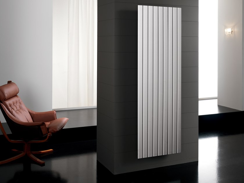 Hot Water Vertical Decorative Radiator FLYLINE | Vertical Decorative  Radiator By DELTACALOR