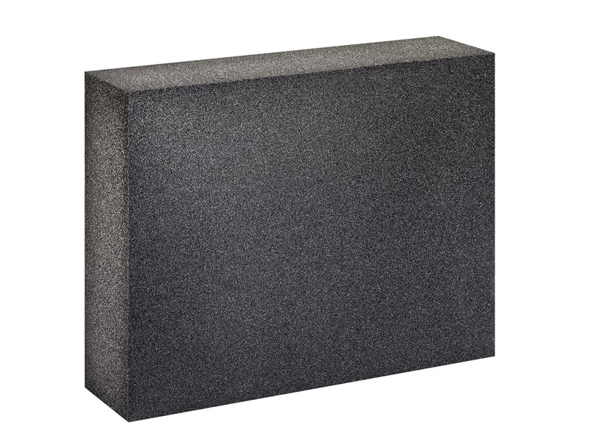 Cellular glass Thermal insulation panel FOAMGLAS® W+F by FOAMGLAS