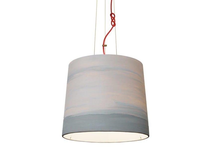 Handmade fabric pendant lamp FOG | Pendant lamp by Mammalampa