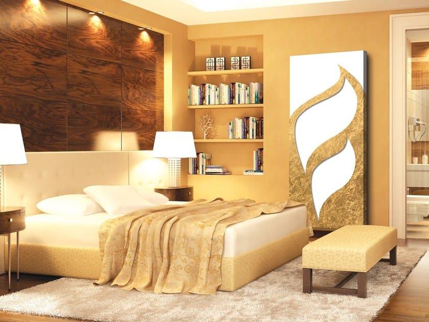 Aluminium radiator / decorative radiator TERMOARREDO FOGLIA D'ORO by Termoarredo Design