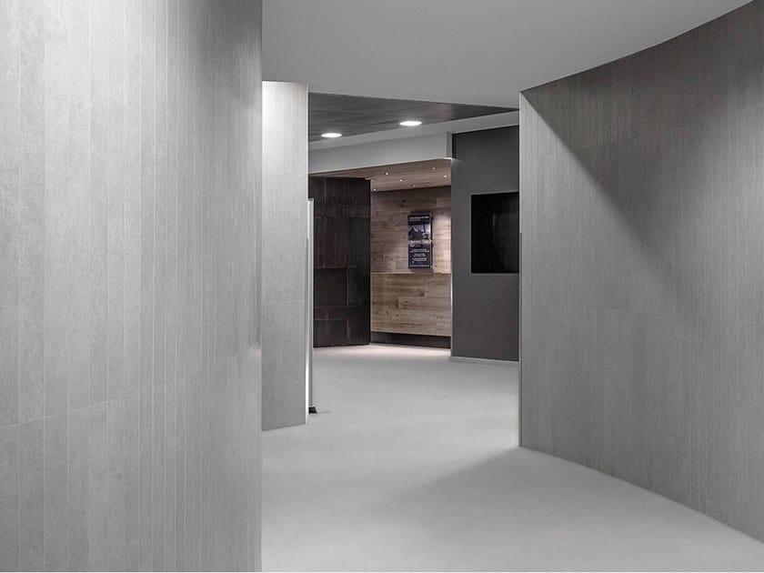 Ecological porcelain stoneware wall/floor tiles FOKOS by Laminam