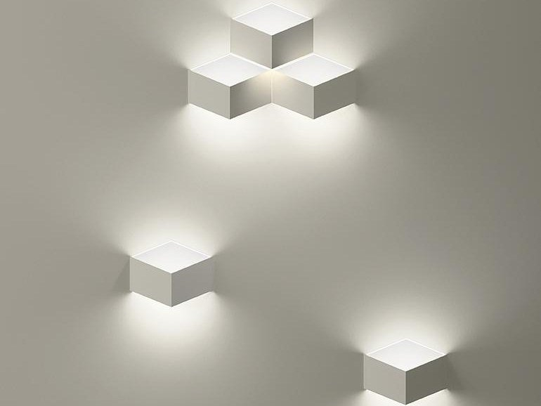 Led wall light fold built in by vibia design arik levy led wall light fold built in by vibia aloadofball Images