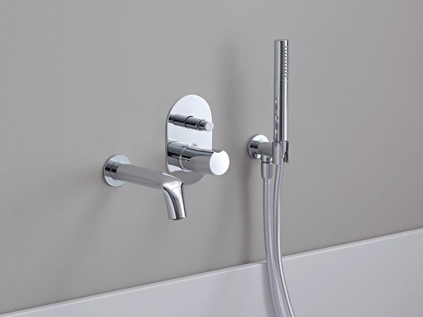 Set vasca a muro da incasso con doccetta FOLD | Set vasca by CERAMICA FLAMINIA