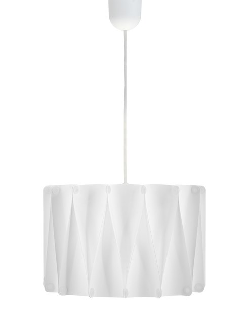 Contemporary style metal pendant lamp FOLD SU by ENVY
