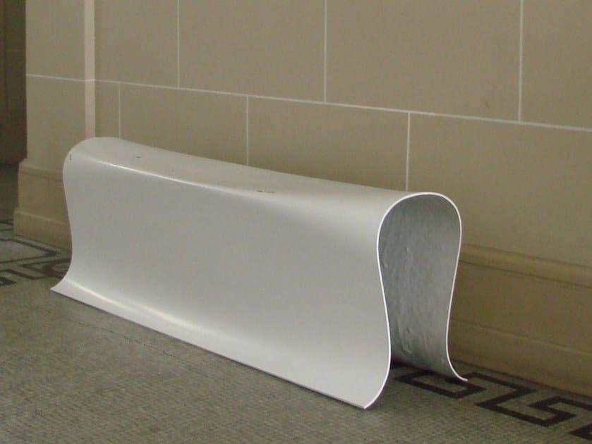 Glass-fibre bench FOLDBENCH by Specimen Editions