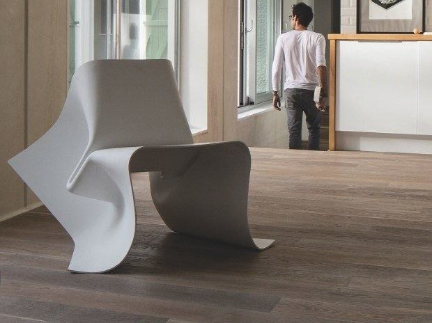 Glass-fibre chair FOLDCHAIR by Specimen Editions