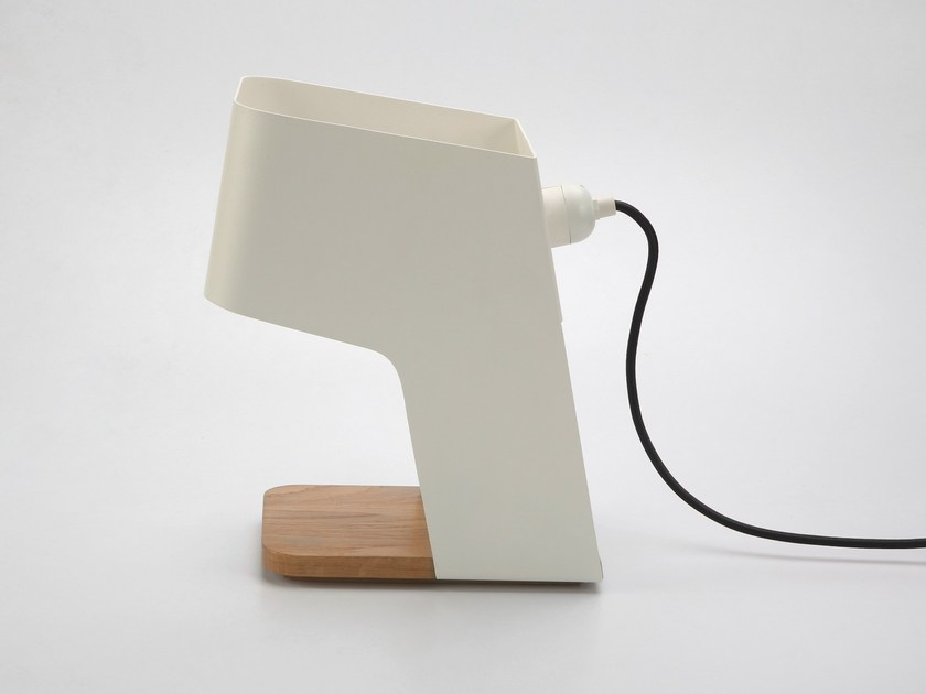 Steel table lamp FOLDO by Specimen Editions