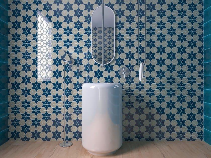 White-paste wall/floor tiles FOLK by Acquario Due