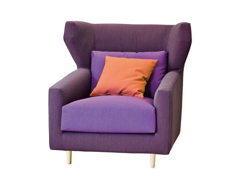 Armchair with headrest FOLK   Armchair by Sancal