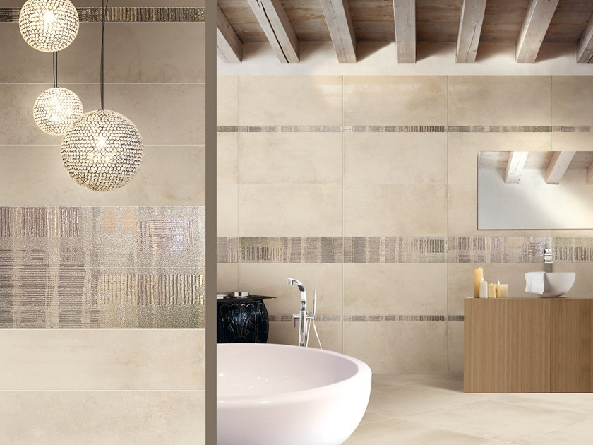 Porcelain stoneware wall/floor tiles FOLLOW by CERAMICHE BRENNERO