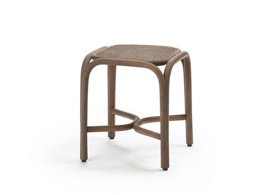 Low rattan stool FONTAL | Stool by EXPORMIM