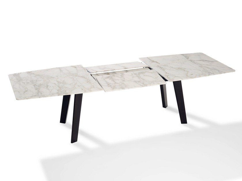 Extending marble table FONTANA | Marble table by Draenert