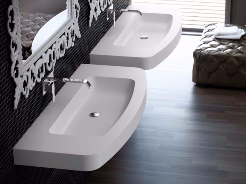 Single Silexpol® washbasin FONTANA ILCIC03 by Fiora