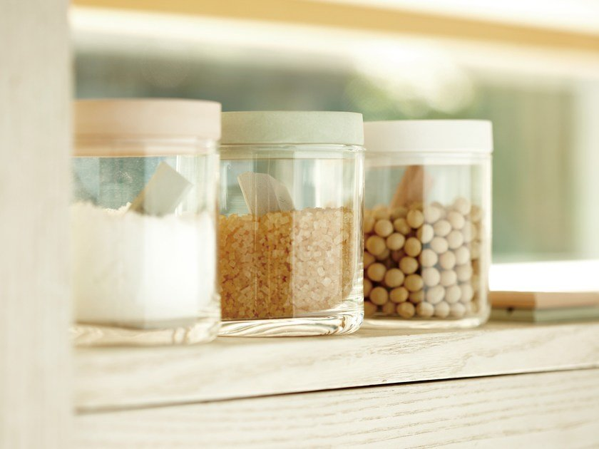 Glass food-storage box FOOD CONTAINER GLASS by soil