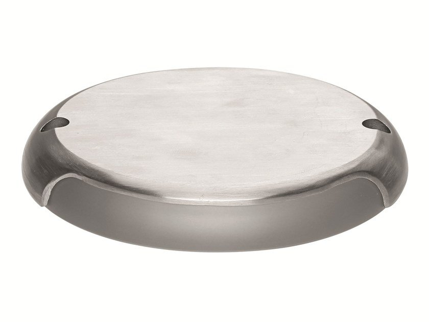 LED outdoor stainless steel steplight FOOTPAD | Steplight by Linea Light Group