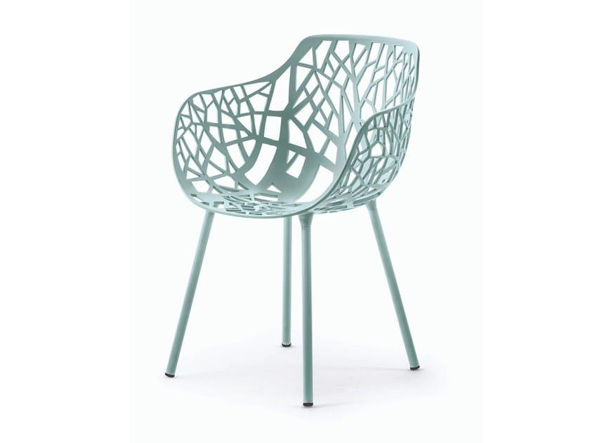 Fast Sedie Da Giardino.Forest Sedia Con Braccioli By Fast Design Francesca Petricich