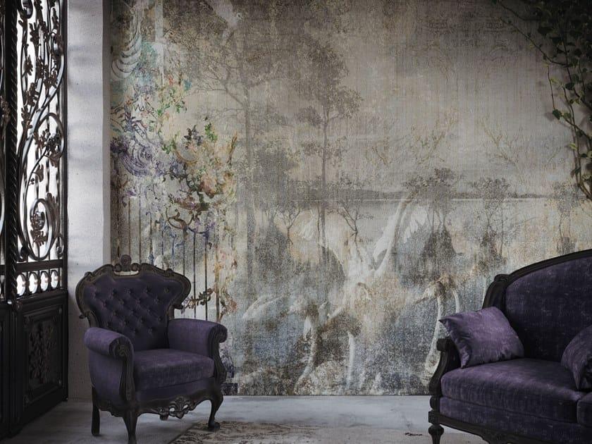 Landscape nonwoven wallpaper FOREVER by Tecnografica