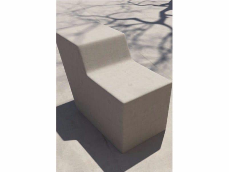Seduta da esterni in calcestruzzo FORM | Seduta da esterni in calcestruzzo by SIT