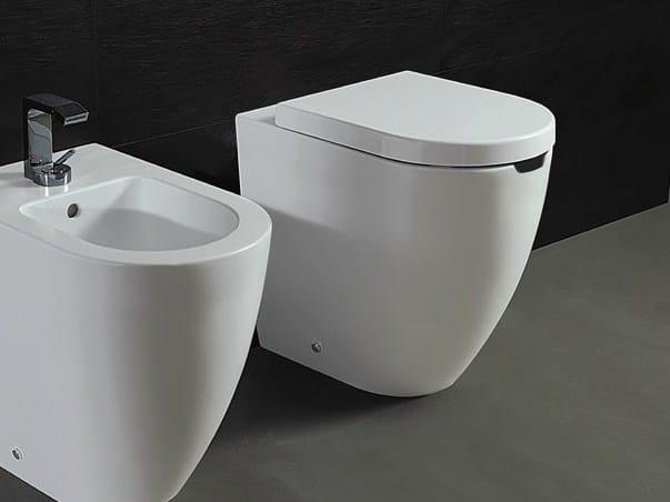 Ceramic toilet FORM H 50 OPEN | Toilet by Alice Ceramica