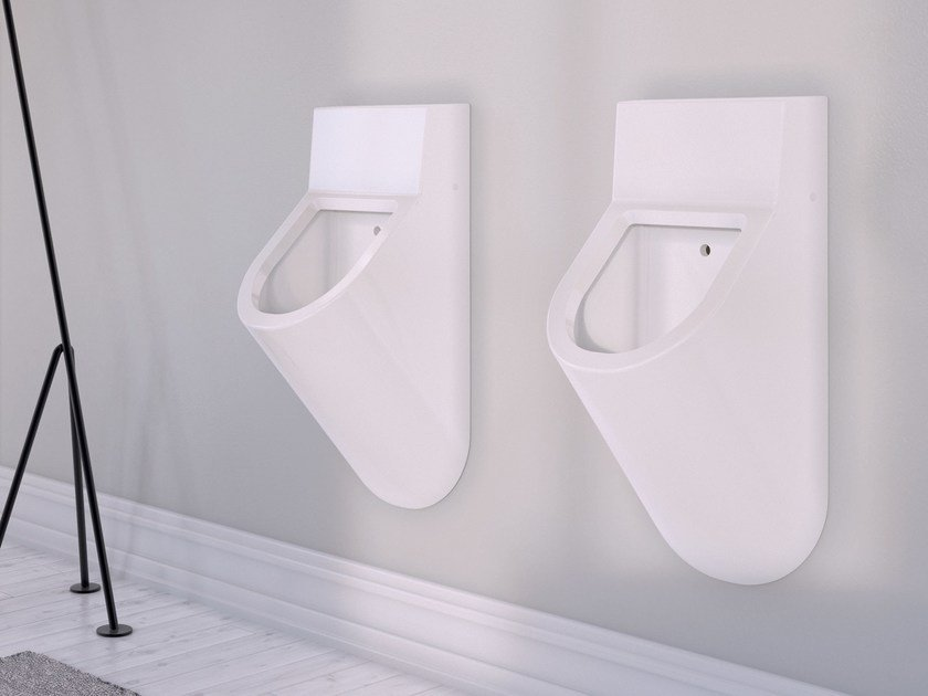 Suspended ceramic Urinal FORM | Urinal by Alice Ceramica