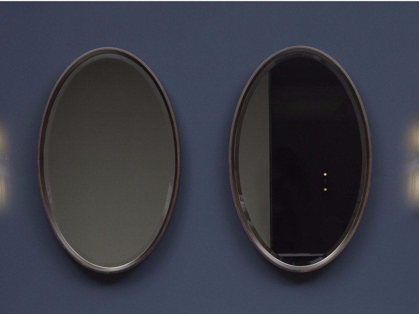 Oval wall-mounted bathroom mirror FORMA by Antonio Lupi Design