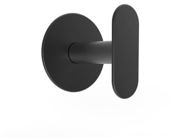 Wall-mounted brass coat rack MYAPP FORM I 60.010 by BRL METAL DESIGN