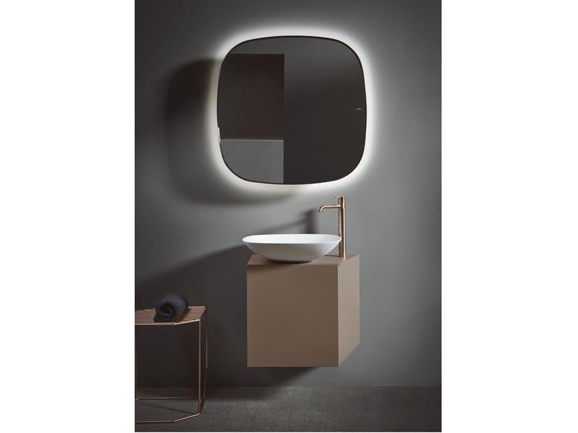 Mueble bajo lavabo simple suspendido FORMA | Mueble bajo lavabo simple by INBANI