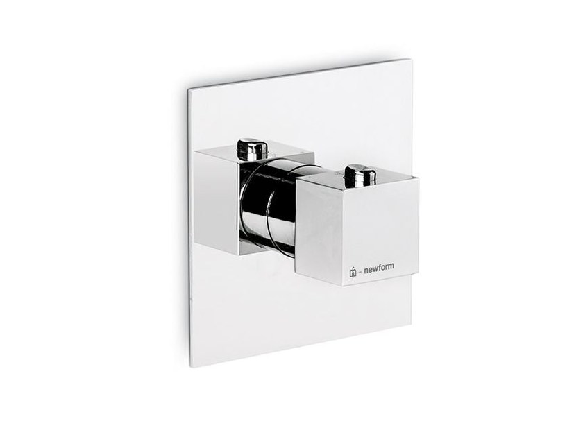 Thermostatic thermostatic shower mixer FORMA | Thermostatic shower mixer by newform
