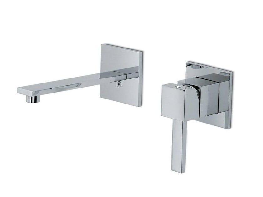 Wall-mounted washbasin mixer without waste FORMA | Wall-mounted washbasin mixer by newform