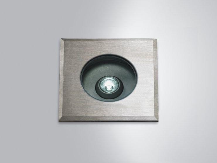 LED outdoor aluminium steplight FORMAT 10 by LUCIFERO'S