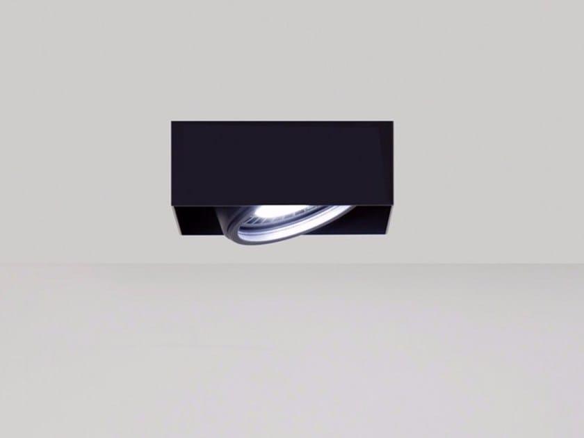 Semi-inset metal spotlight FORMAT | Semi-inset spotlight by DAVIDE GROPPI