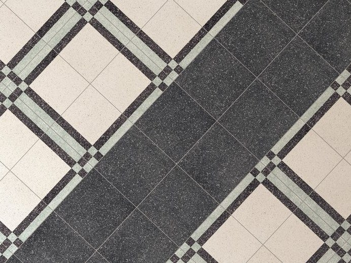 Porcelain stoneware wall/floor tiles with stone effect FORME NERO by Marca Corona