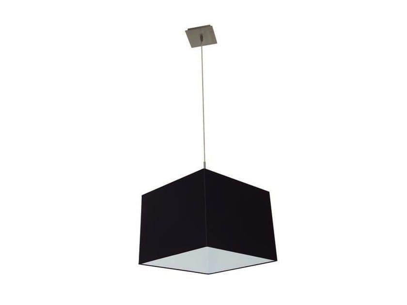 Direct light cotton pendant lamp FORQ | Pendant lamp by Aromas del Campo